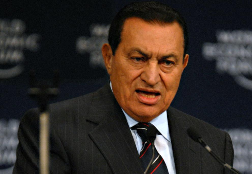صورة تبرئة حسني مبارك من الشعب المصري