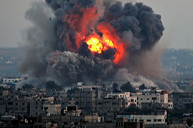 صورة جرد في غزّة يكشف عن اختفاء مجموعات من البشر والمباني والأسلحة