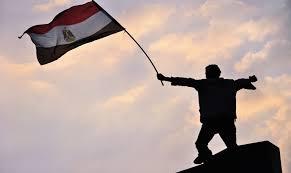 """صورة قراء إحدى المجلات الالكترونية يلومون """"نعم"""" على ما يحصل في مصر"""
