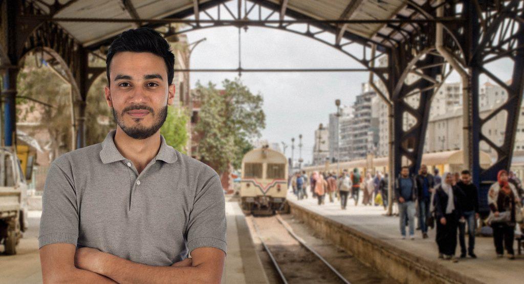 صورة قصة نجاة: مواطن مصري فاته القطار