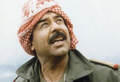 صورة صدام حسين