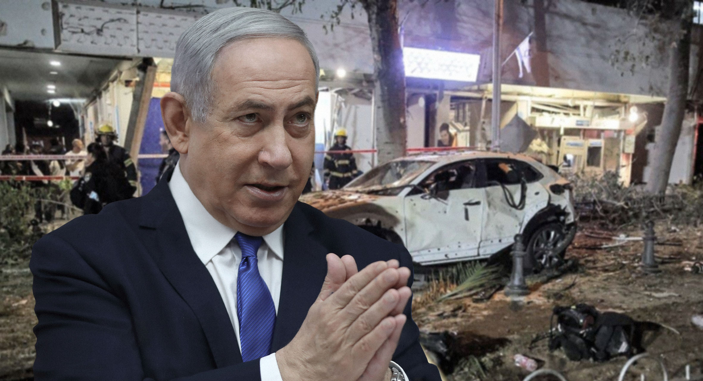 صورة نتنياهو يطالب بتحالف دولي لدعم إسرائيل كونها تخوض حرباً ضد القدس والضفة وغزة وفلسطينيي الداخل وحدها