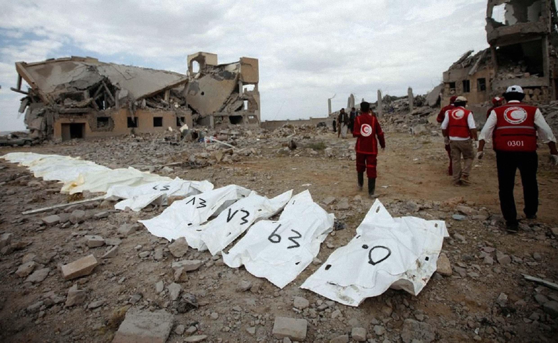 صورة اعتماد ٥٠ قتيلاً فما فوق كعدد منطقي للحديث عن الأوضاع في اليمن