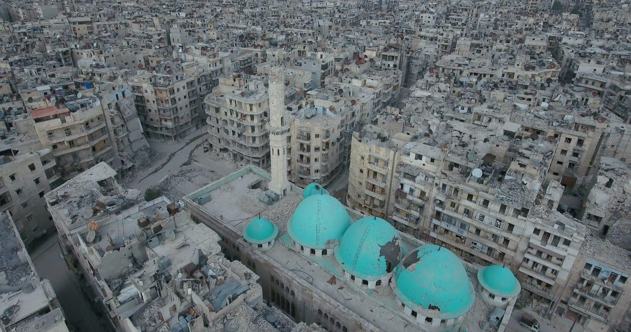 صورة في مثل هذا اليوم بدأ الأسد بتحويل سوريا إلى مدينة أثرية