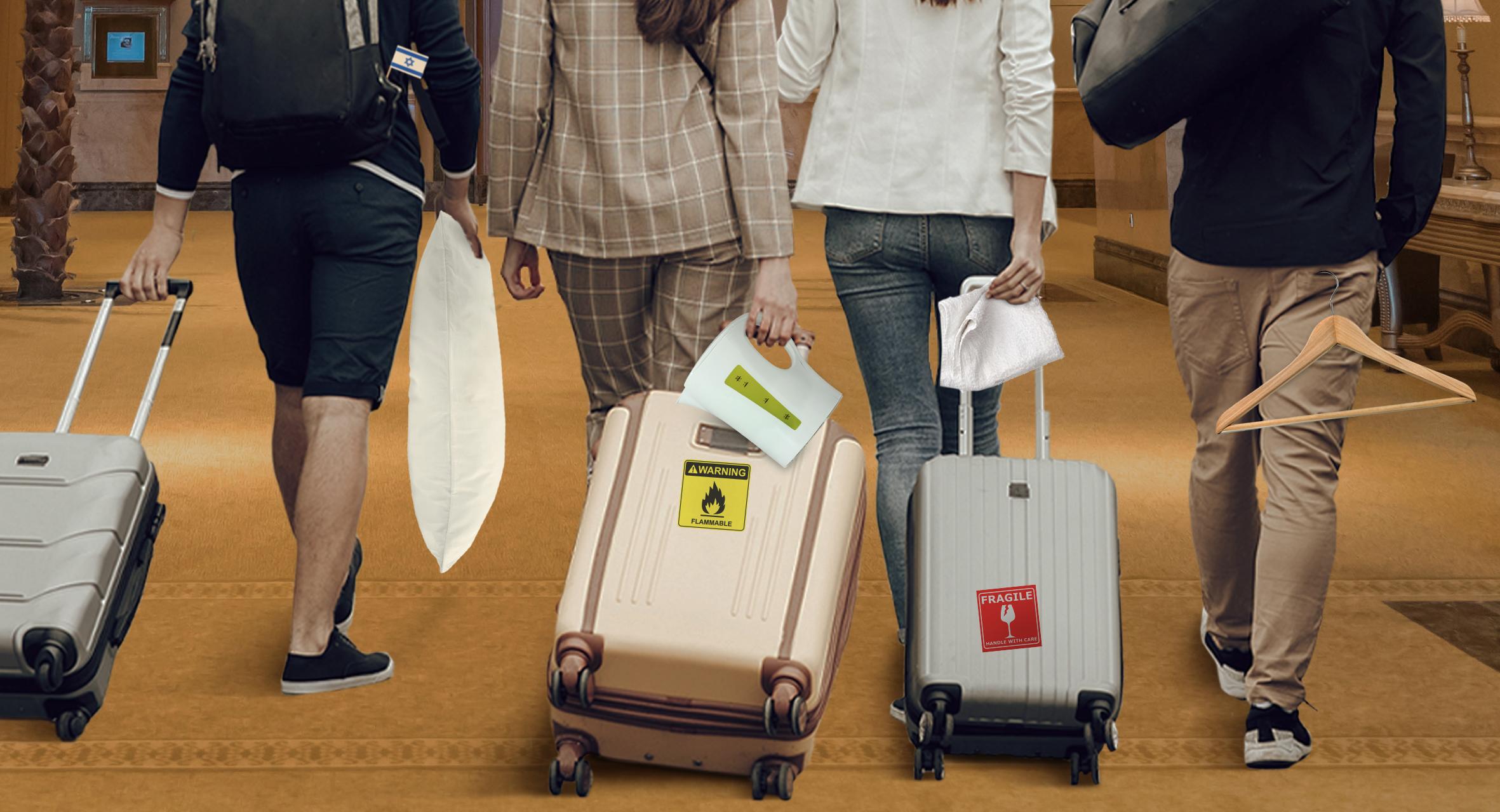 صورة كتيبة سياح إسرائيليين يستطلعون استجابة فنادق دبي للسرقة تمهيداً للتوسع وإقامة مستوطنات