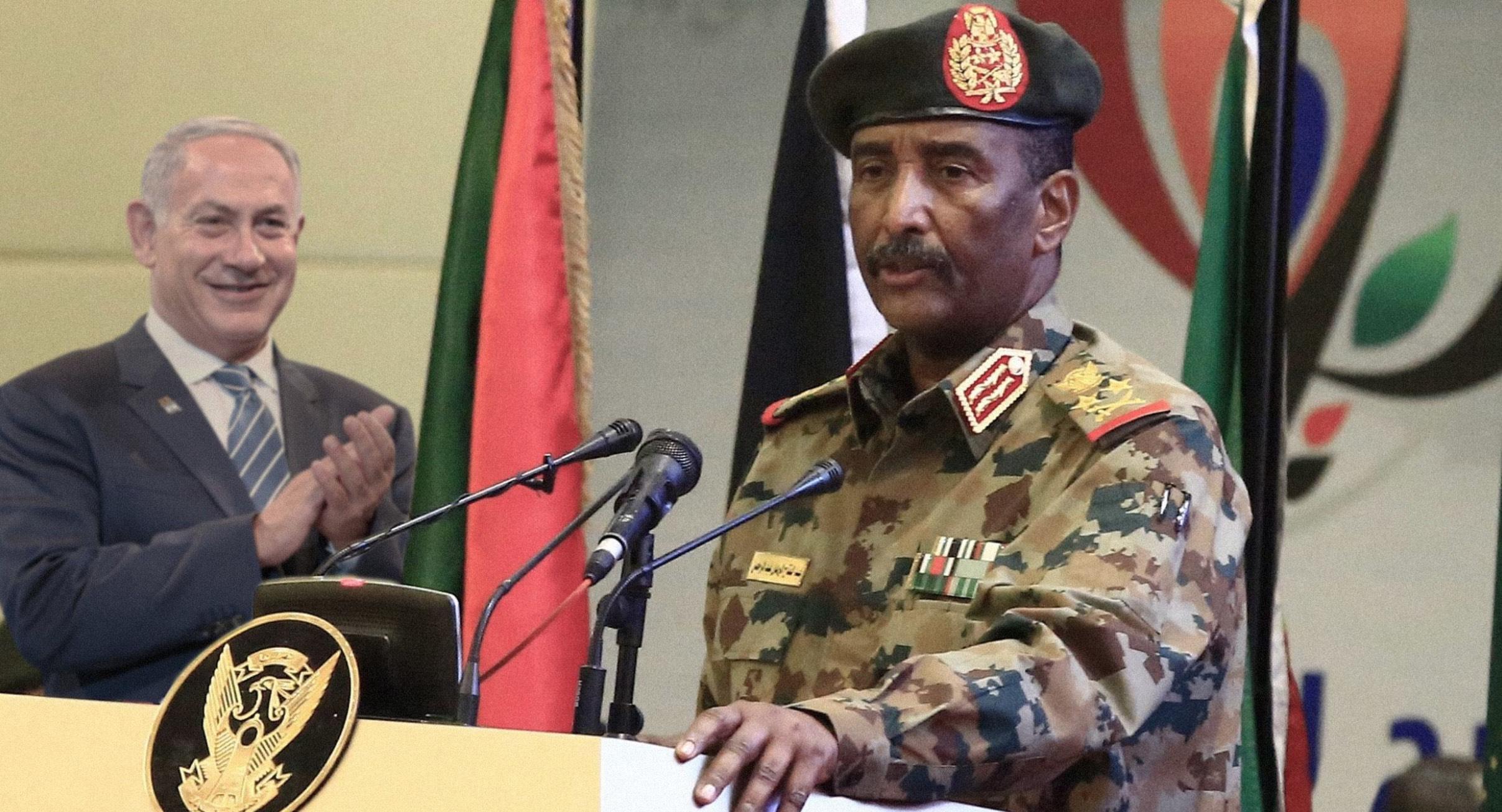 صورة السودان تعلن توبتها عن الإرهاب الإسلامي واستعدادها للعمل تحت إمرة الإرهاب الإسرائيلي