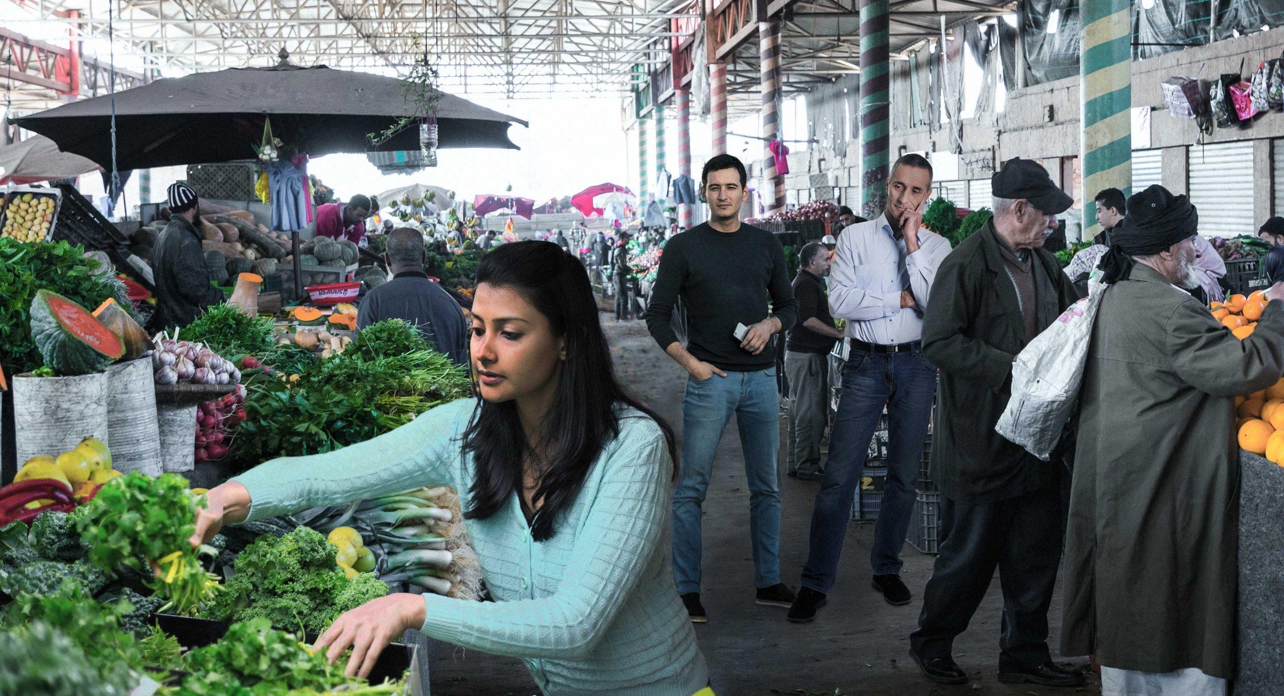 صورة عاجل: أنباء عن خروج مطَلَّقَة لشراء البقدونس