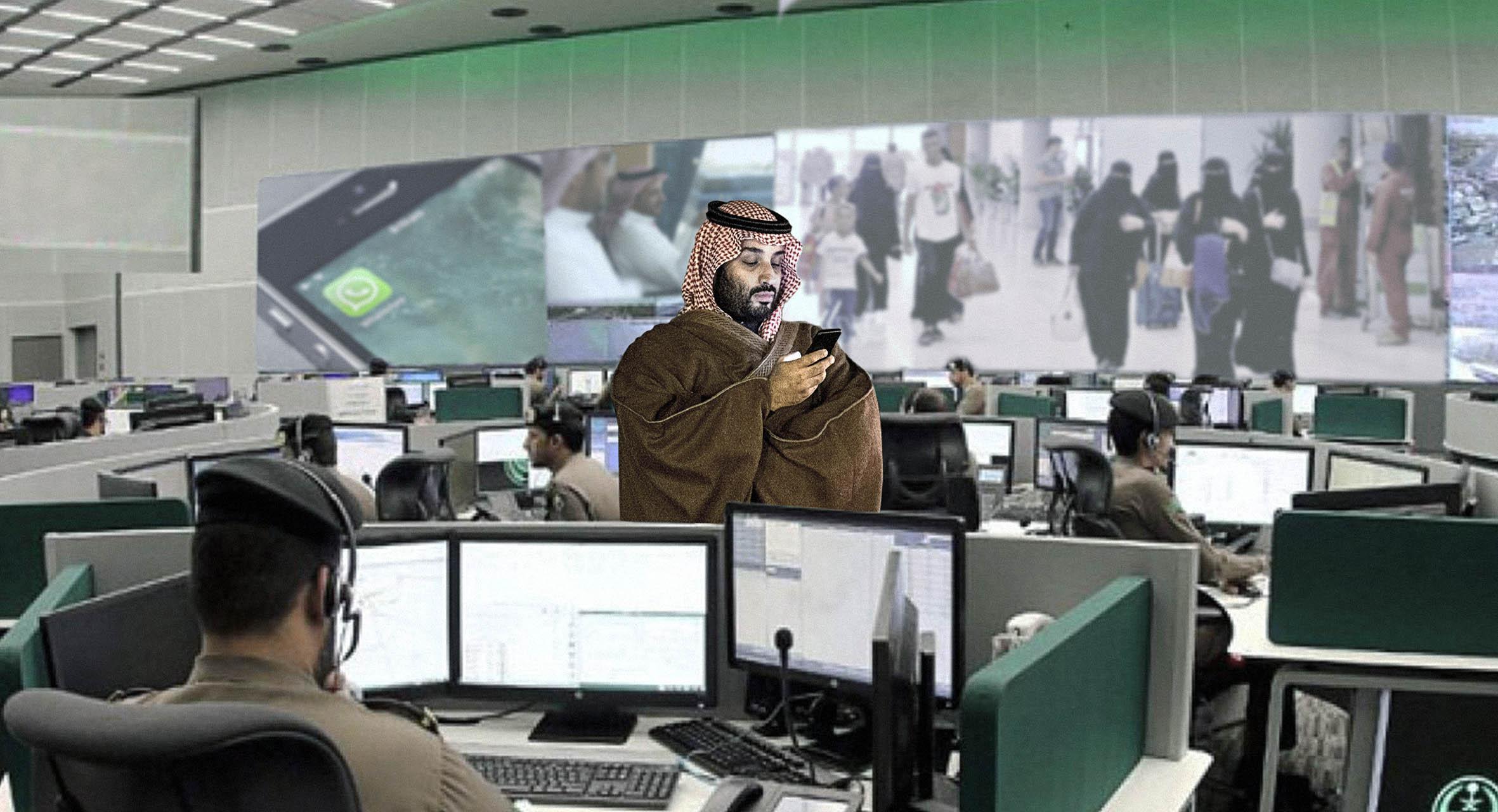 صورة السعودية تؤكد قدرة مواطنيها على مغادرتها لكنها لن تغادرهم أو تغادر هواتفهم أبداً
