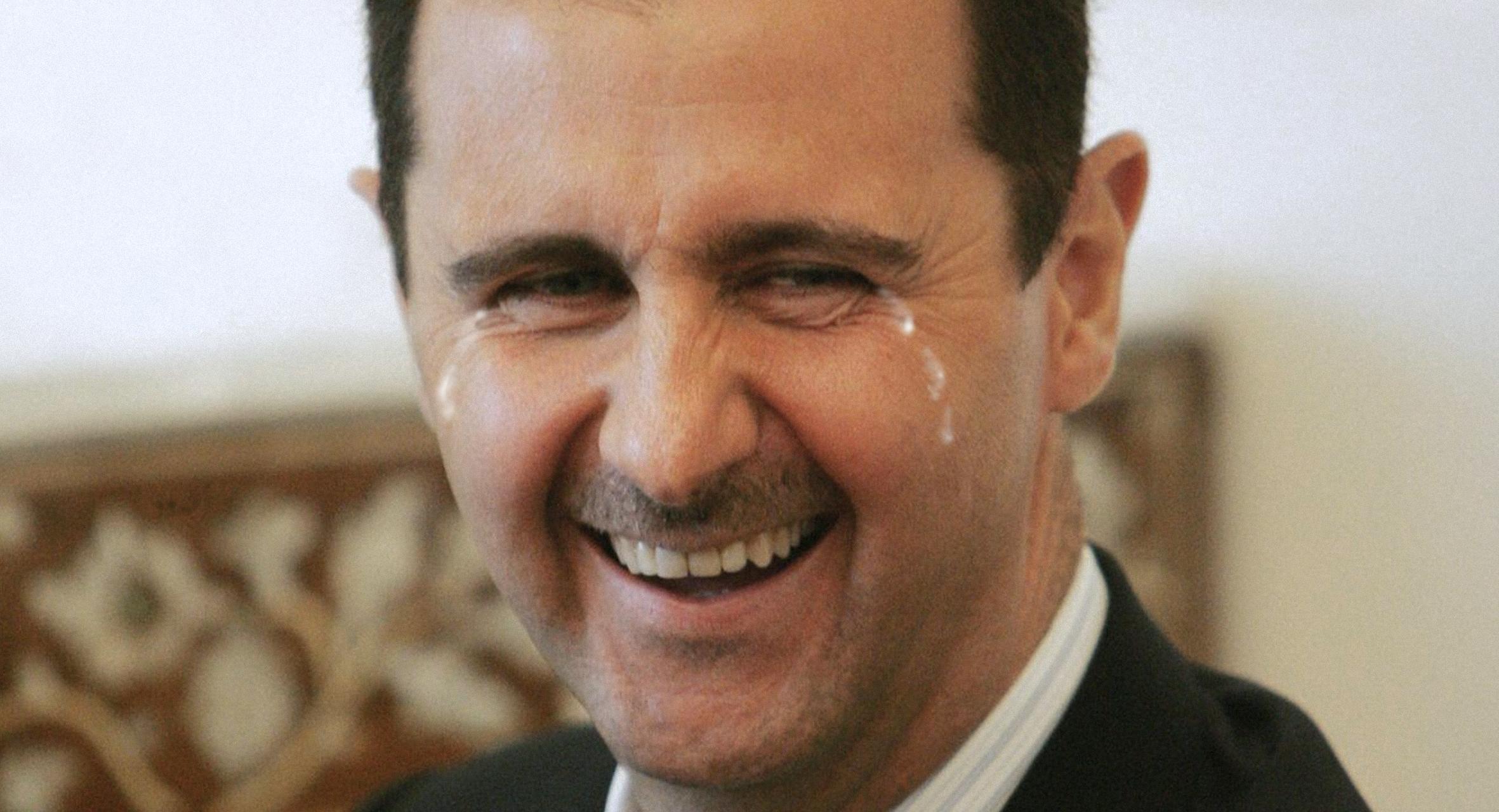 صورة الأسد: مشهد سكان إدلب وهم لا يعرفون إلى أين يهربون جعلني أذرف الدموع