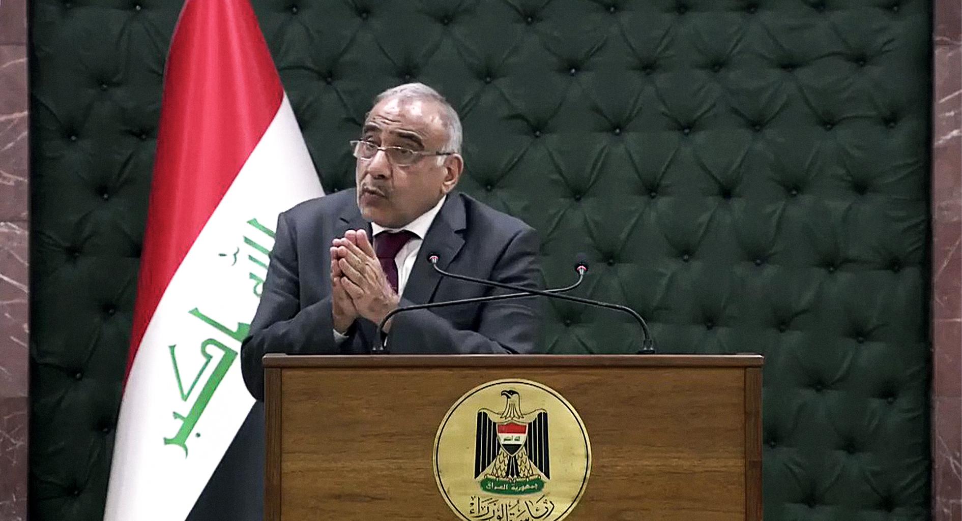 صورة السلطات العراقية تتعهَّد بإقالة مسؤول أمني واحد مقابل كل ٢٠٠ قتيل من المتظاهرين