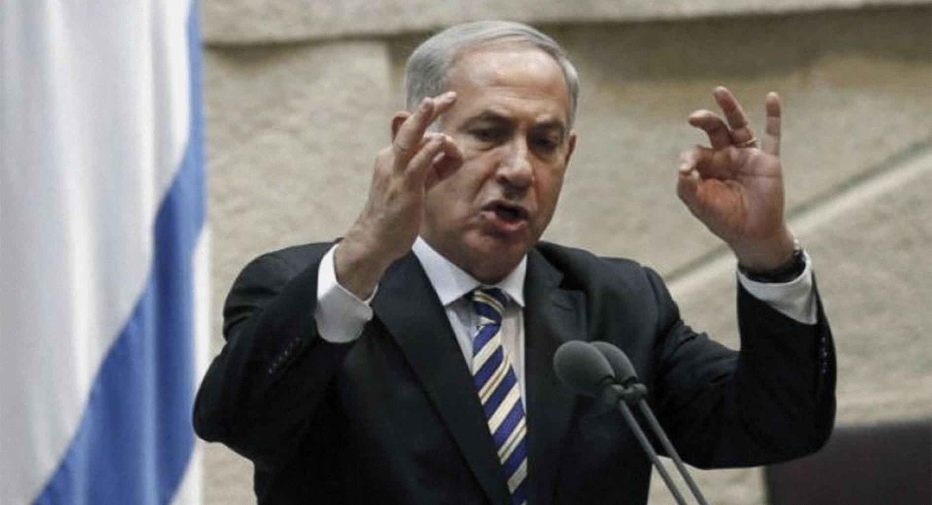 صورة نتنياهو يهدد باجتياح لبنان إن لم يعد حزب الله رفات طائرته المسيرة