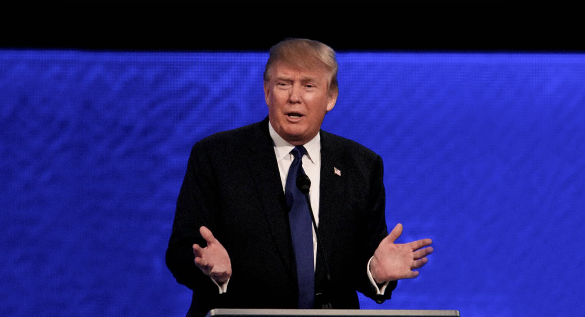 صورة ترامب يطالب بتحديد الأعراق التي يمكن له احتقارها دون اتهامه بالعنصرية
