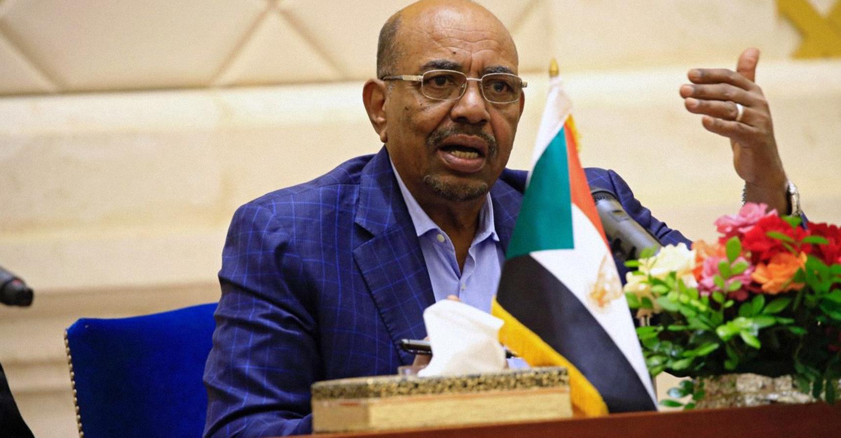 صورة البشير يؤكد حلَّه لمشاكل السودان الاقتصادية خلال ولايته القادمة، أو التي تليها