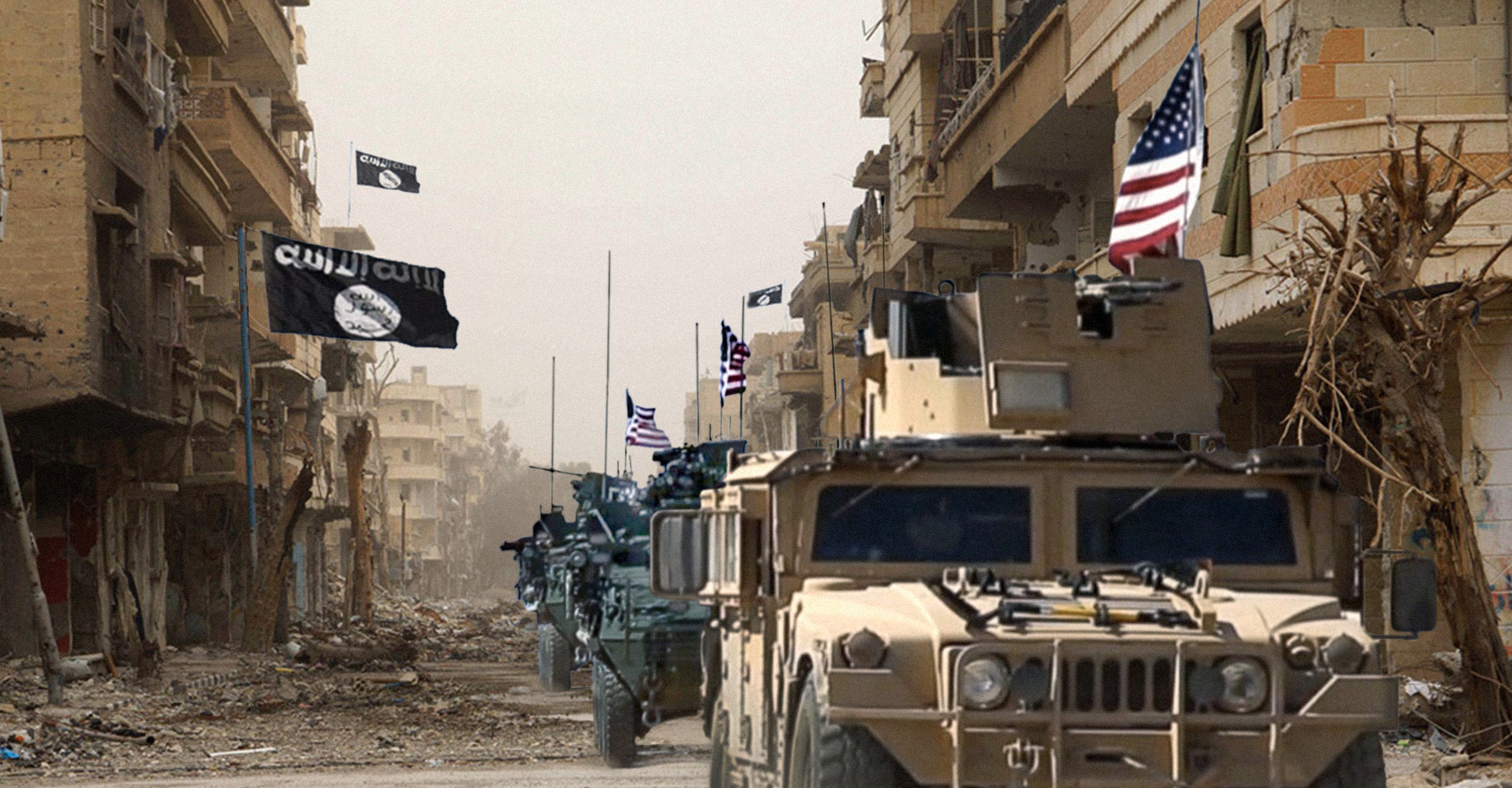 صورة الجيش الأمريكي ينسحب من مناطق سيطرته في سوريا بعد أن أتمَّ نشر الديمقراطية فيها