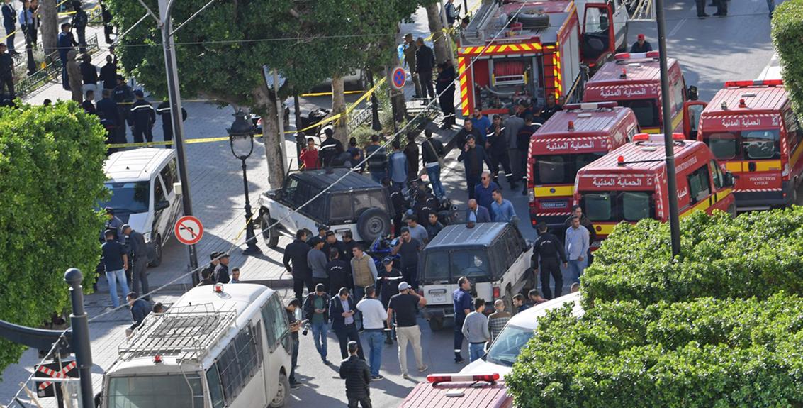 صورة إرهابيَّة تنجح بتفجير نفسها وتخليص تونس من متطرِّفة أخرى