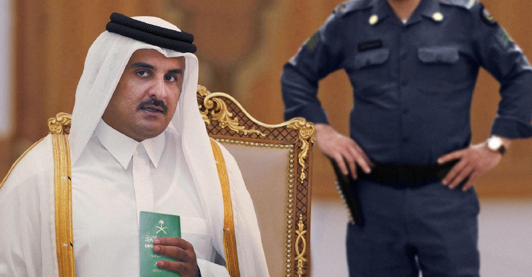 صورة السعودية تمنح تميم جنسيتها لتستطيع مطالبة الكويت بالقبض عليه