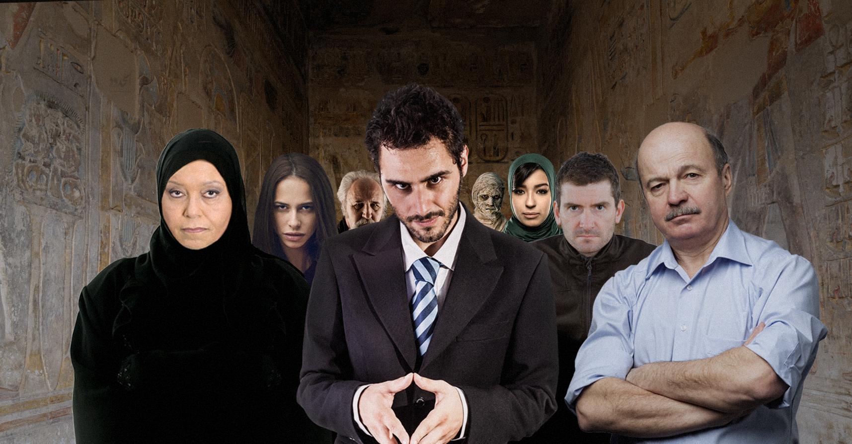 صورة مصريون يدعون راموس لزيارة الأهرامات ليطلعوه على الأسرار المدفونة بأماكن مظلمة