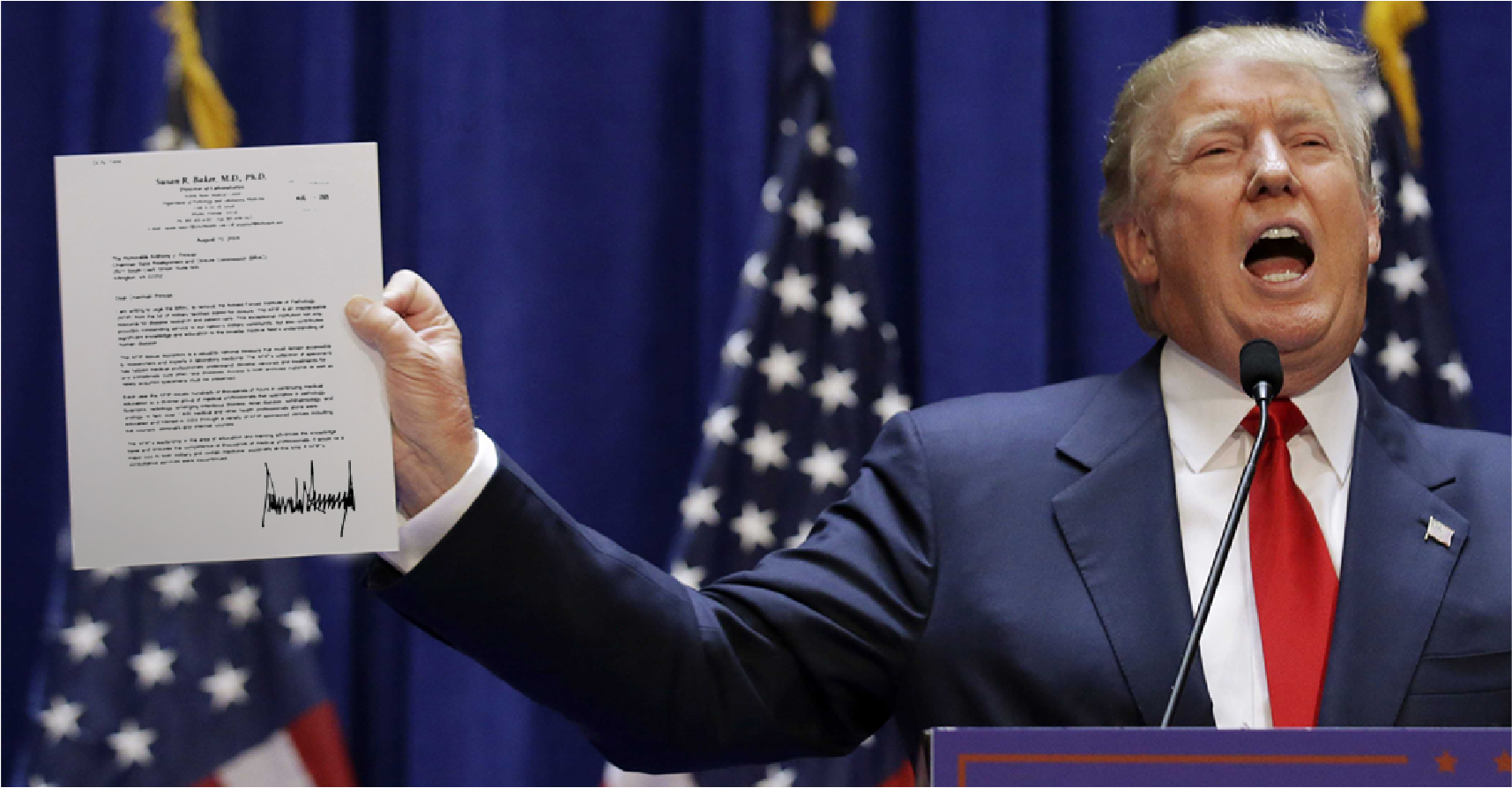 صورة ترامب يقرر منع مواطني ١٢٨ دولة من دخول الولايات المتحدة