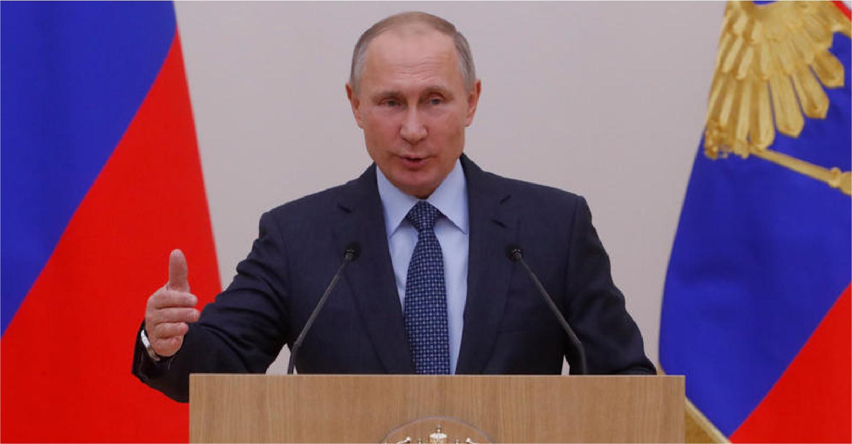 صورة بوتين يصدر قراراً بسحب القوات الروسية من سوريا مع الإبقاء على بعض المجندين والضباط ورئيس
