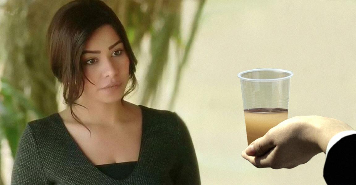 صورة النقابة تؤكّد أنَّها لن تقبل اعتذار شيرين إلا إذا رأتها تشرب من مياه النيل وتتسمم وتموت