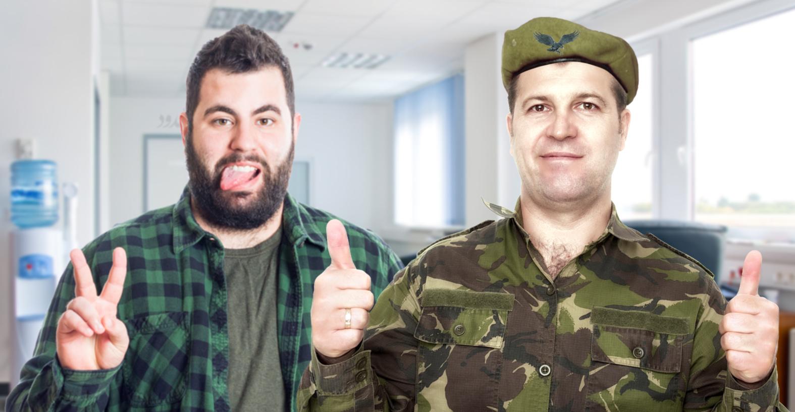 صورة الدفاع المدني ينجح بفصل لسان موظف عن مؤخرة مديره