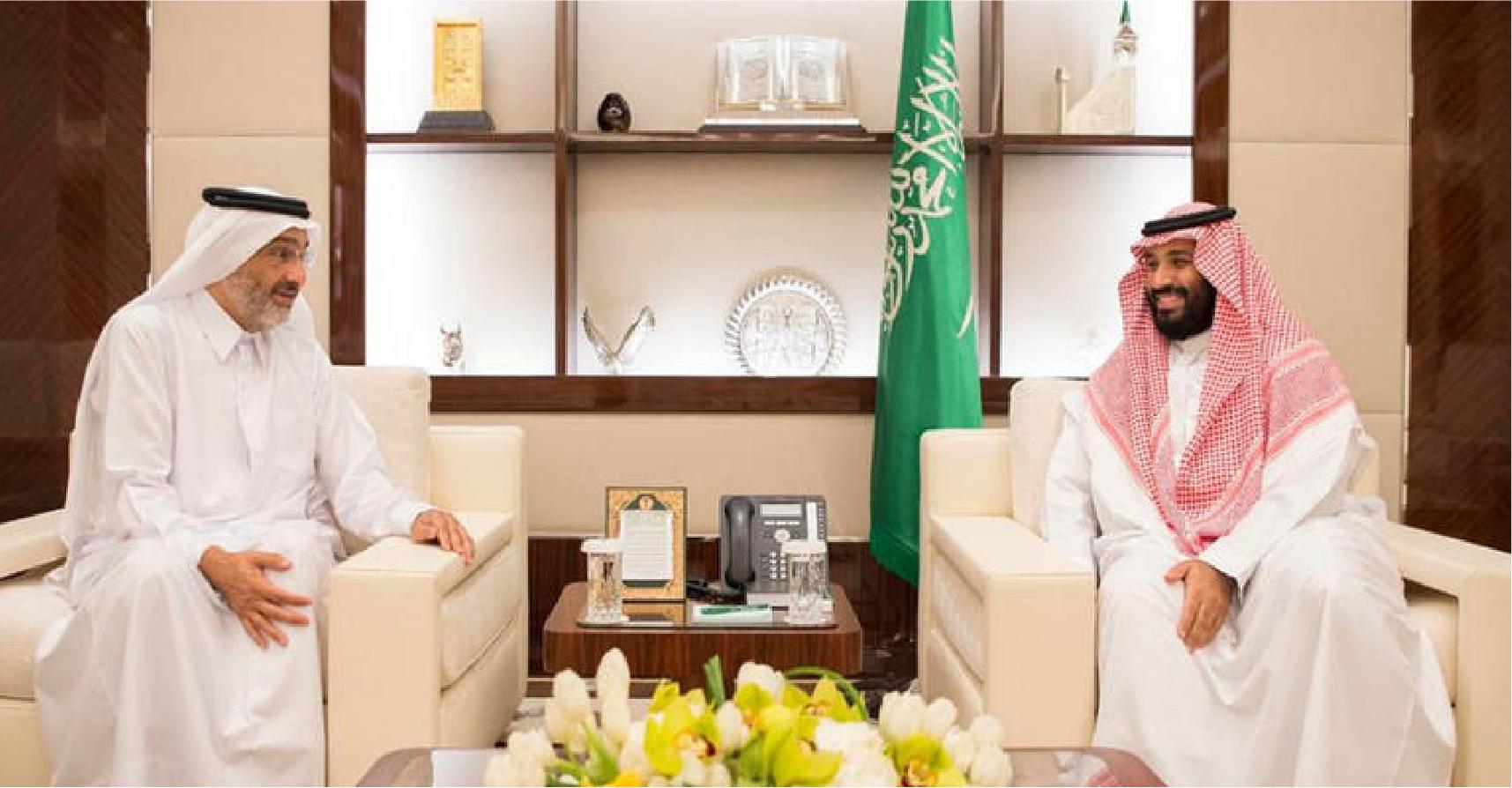 صورة السلطات السعودية تتكرّّم على القطريين وتسمح لهم بعبادة ربهم