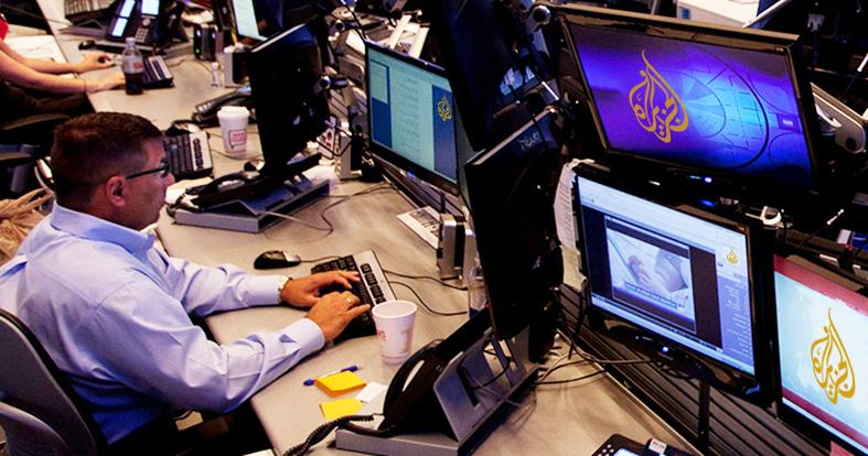صورة الجزيرة توظف كتّاب سيناريو لإضفاء المزيد من الدراما على نشراتها