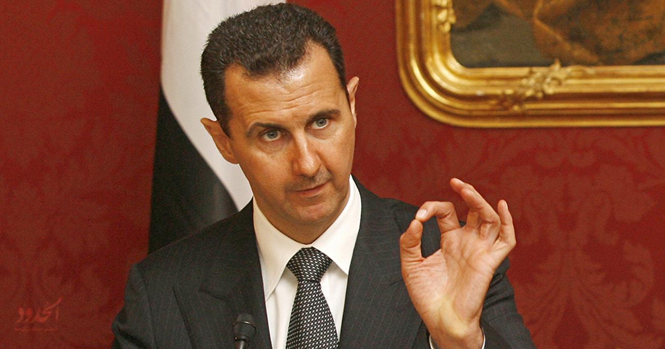 صورة الأسد يندد بإعدام 13 ألفاً من المعتقلين، ويؤكد أن بإمكانه القيام بأفضل من ذلك