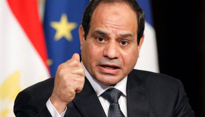 صورة السيسي يرفع قضية في المحكمة الدولية على المحكمة المصرية التي حكمت بأن الجزيرتين مصريتان
