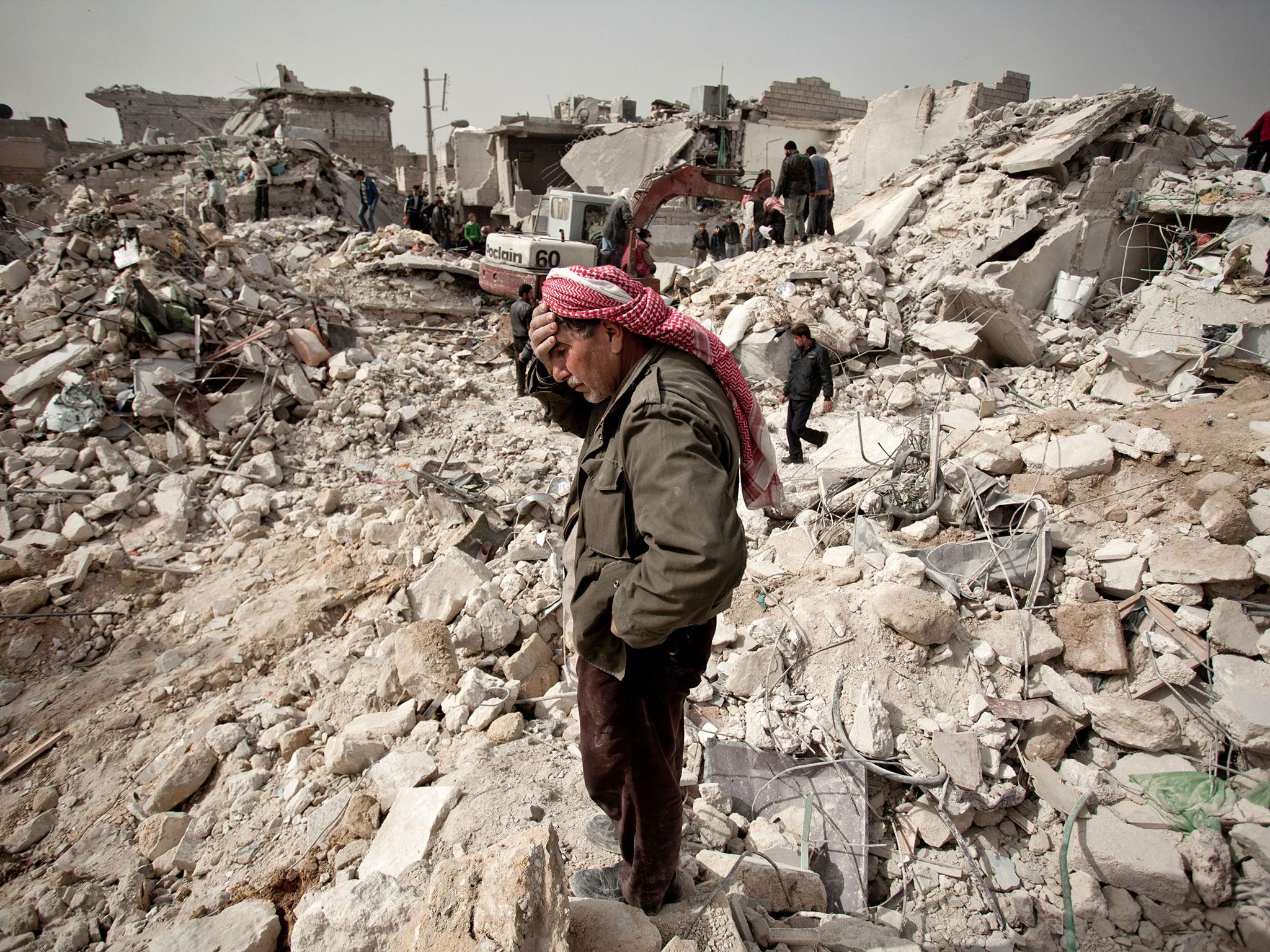 صورة خبراء الحدود يضعون ٥ سيناريوهات محكمة لإنهاء الحرب في سوريا