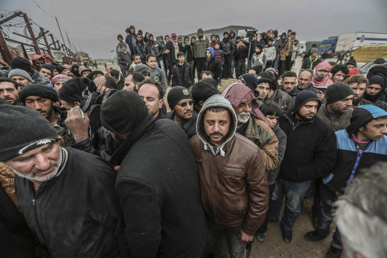 صورة الفضائية السورية: آلاف المواطنين يشاركون في ماراثون حلب – تركيا