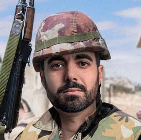 مراد آغاواني، مقاتل سوري معارض للأسد
